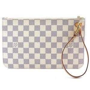 Neverfull Pochette Canvas Clutch